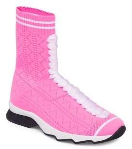 Fendi Knit Sneaker Booties