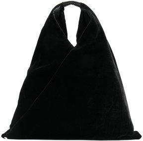 Mm6 Maison Margiela velvet sack bag
