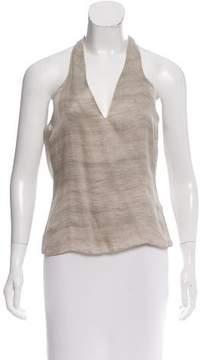 Emporio Armani Printed Silk Top