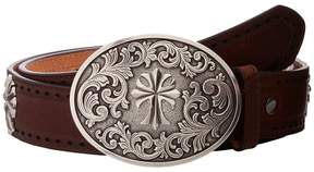 Ariat Perforated Edge Cross Belt Women's Belts