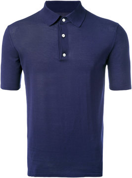 Hardy Amies knit polo shirt