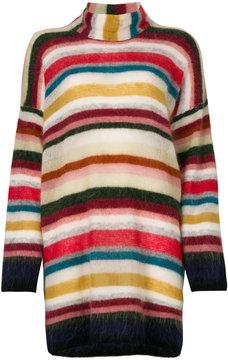 Bellerose oversized striped knit jumper