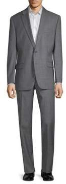 Lauren Ralph Lauren Slim-Fit Sharkskin Wool Suit