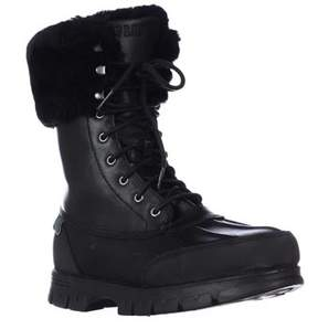 Lauren Ralph Lauren Lauren by Ralph Lauren Quinta Shearling Lined Winter Boots, Black/black.