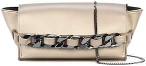 Elena Ghisellini fold over chained clutch bag