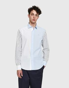 J.W.Anderson Mixed Shirt with Embroidery