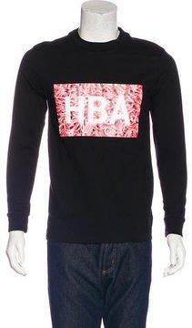 Hood by Air Logo Print Sweatshirt