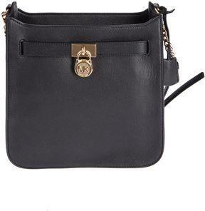 Michael Kors Hamilton Shoulder Bag - BLACK - STYLE