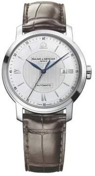 Baume & Mercier Classima 8731 Stainless Steel & Alligator Strap Watch