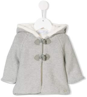 Tartine et Chocolat toggle hooded coat