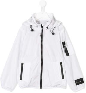 Diadora Junior rainwear zip up jacket