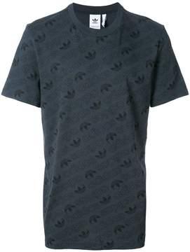 adidas monogram T-shirt