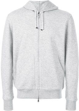 Brunello Cucinelli cashmere zipped hoodie