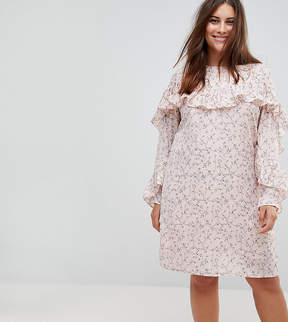 Alice & You Ruffle Sleeve Tea Dress