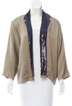 Dries Van Noten Embellished Silk Jacket
