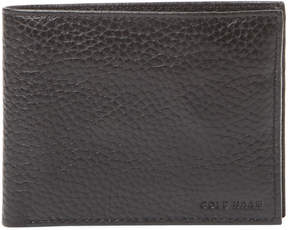 Cole Haan Men's Pebble Leather Passport Case