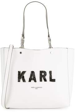 Karl Lagerfeld Paris Women's Adelle Logo Tote
