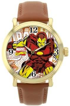 Marvel Iron Man Leather Watch