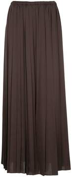 Aula pleated palazzo trousers