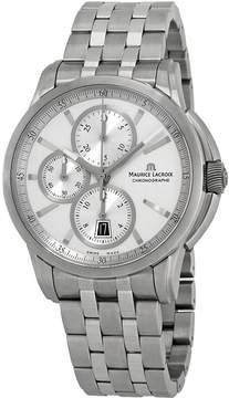 Maurice Lacroix Pontos Chronograph Silver Dial Men's Watch