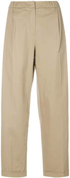Odeeh cropped high waisted trousers