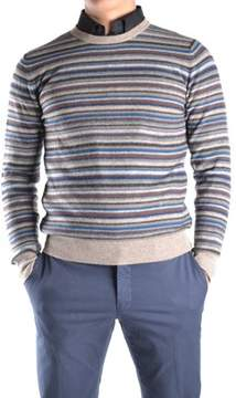 Mauro Grifoni Men's Multicolor Wool Sweater.