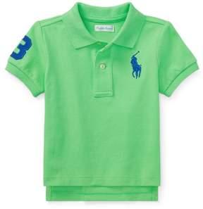 Ralph Lauren | Cotton Mesh Polo Shirt | 18-24 months | New lime