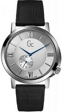 GUESS GC SlimClass Black Leather Mens Watch X59005G1S [Watch]