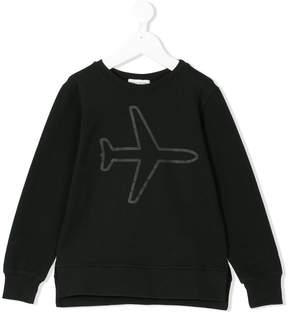 Paolo Pecora plane print sweatshirt