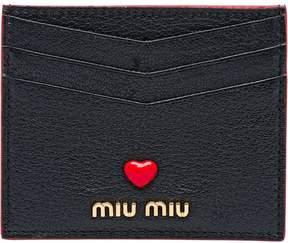 Miu Miu Love Logo cardholder