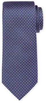 Neiman Marcus Natte Silk Tie