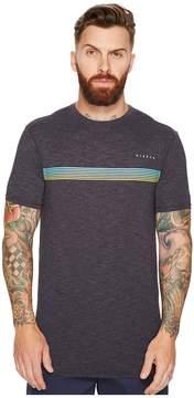 VISSLA Dredgers Short Sleeve Heathered Surf Tee Men's T Shirt