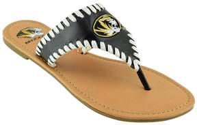 NCAA Women's Missouri Tigers Stitched Flip-Flops