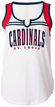 5th & Ocean Women's St. Louis Cardinals V Notch Tank