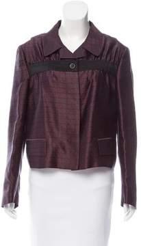 Dries Van Noten Silk Jacquard Jacket