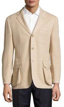 Hickey Freeman Silk-Blend Textured Jacket