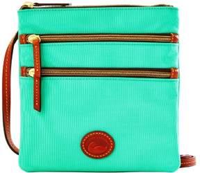 Dooney & Bourke Nylon North South Triple Zip Shoulder Bag - MINT - STYLE