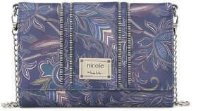 Nicole Miller Nicole By Jenny Flap Crossbody Bag