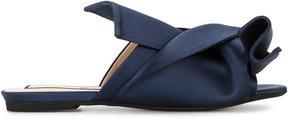 No.21 satin bow sandals