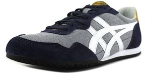 Onitsuka Tiger by Asics Serrano Women Round Toe Suede Gray Sneakers.