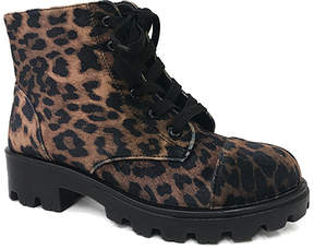 Bamboo Leopard Tread Boot - Women