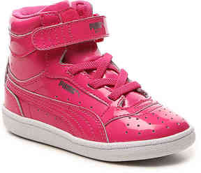 Puma Girls Sky II Infant & Toddler High-Top Sneaker