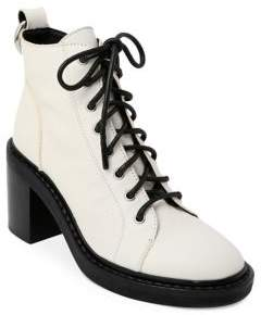 Dolce Vita Leather Combat Boots