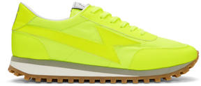 Marc Jacobs Yellow Lightning Sneakers