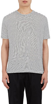 ATM Anthony Thomas Melillo MEN'S STRIPED LINEN T-SHIRT