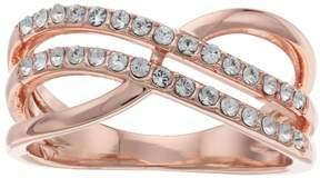 Brilliance+ Brilliance Twist Ring with Swarovski Crystals