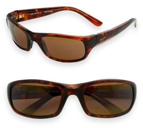 Maui Jim Men's 'Stingray - Polarizedplus2' 56Mm Sunglasses - Tortoise