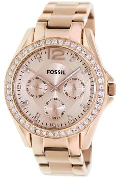 Fossil Women's ES2811 Riley Stainless Steel Watch, 38mm