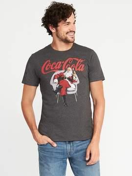 Old Navy Coca-Cola® Santa Claus Tee for Men