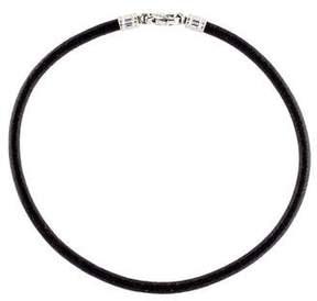 Bvlgari Leather Choker Necklace
